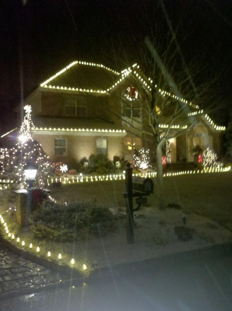 Christmas Lights Installed Long Island