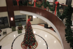 christmas tree lobby