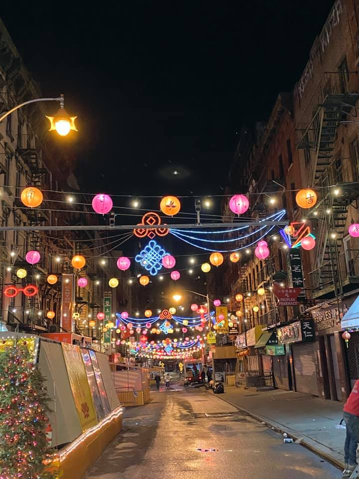 Lighting up Chinatown with patio lighting and lanterns