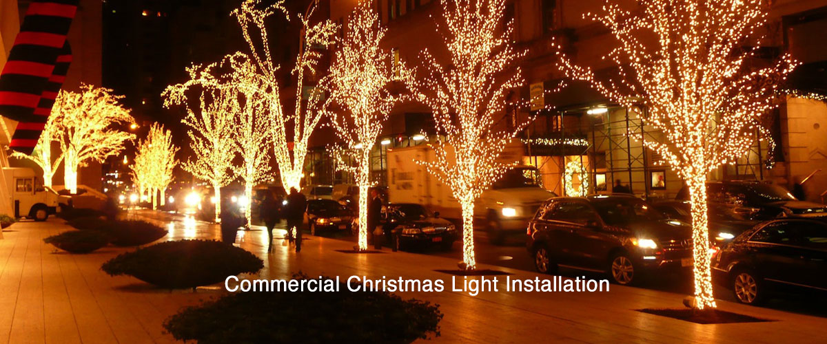 Commercial Christmas Lights.Long Island Christmas Light Installation