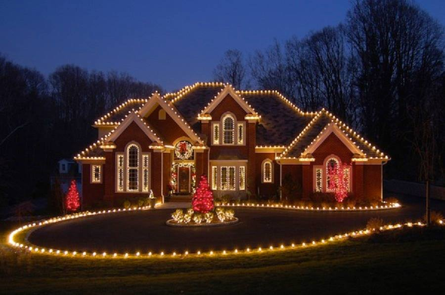 Residential Holiday Light Installation Long Island
