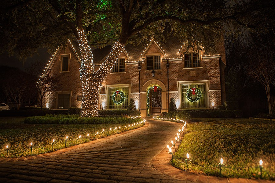 christmas tree inspiration white outdoor ideas light lighting lights