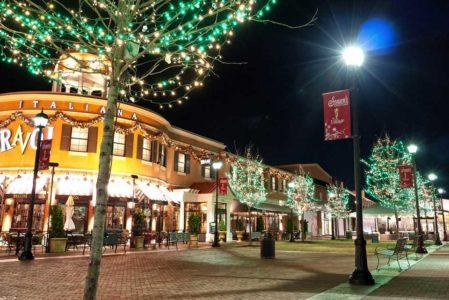 Business Christmas Light Installation